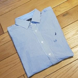 Nautica long sleeved shirt, striped NWOT